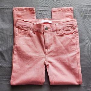 PONYTAILS Pink Stretch Girls Jeggings